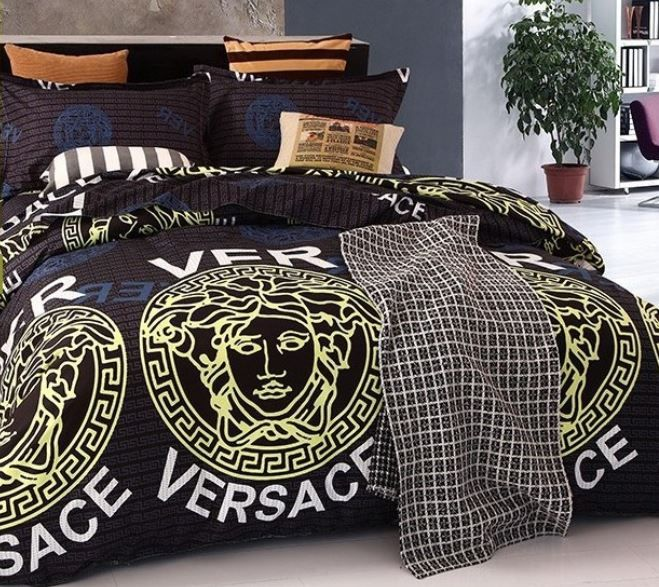 Ensemble De Lit Versace Noir Versace Home Bedrooms Pinterest