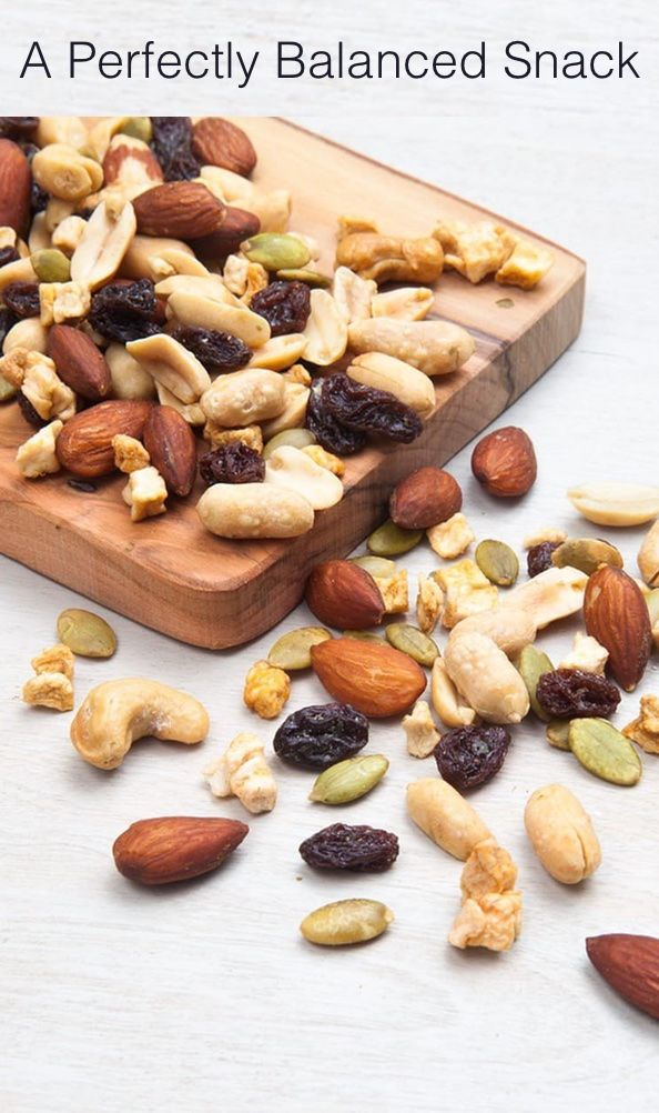A perfectly balanced snack. Amonds, pistachios, walnuts, peanuts and so much more! Check out the nut snack mixes at NatureBox.