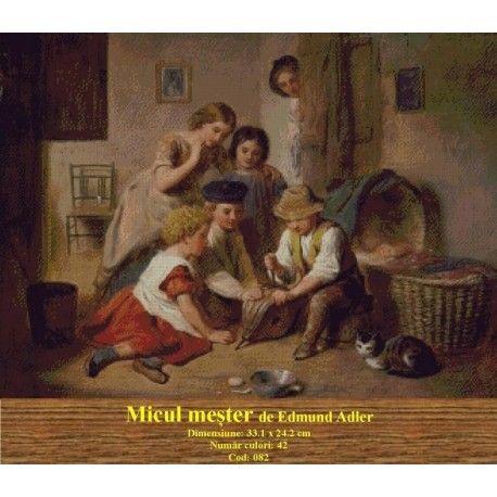 Seturi goblen Micul mester de Edmund Adler http://set-goblen.ro/portrete/3731-micul-mester-de-edmund-adler.html