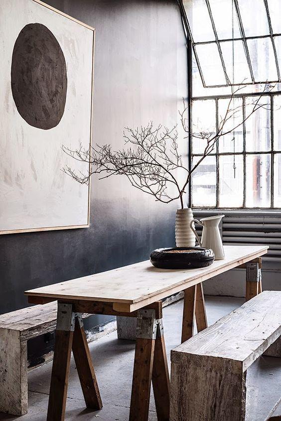 Table repas et bancs