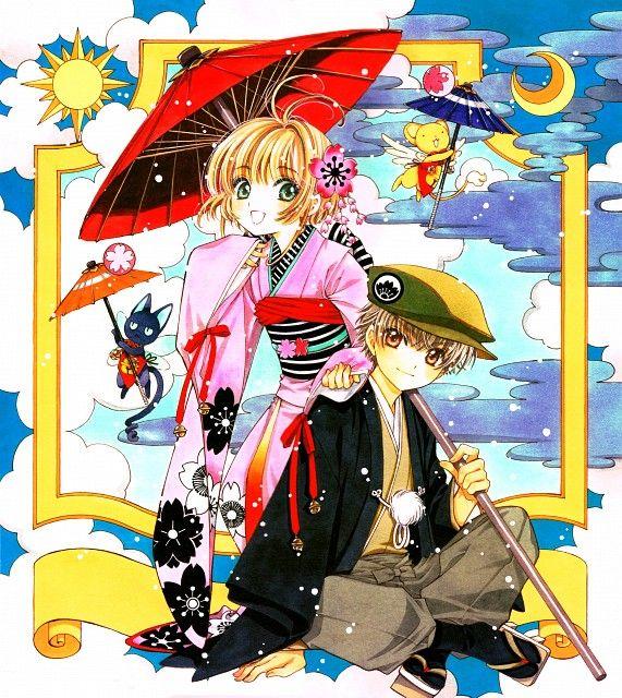 CLAMP, Cardcaptor Sakura, Syaoran Li, Sakura Kinomoto, Spinel Sun