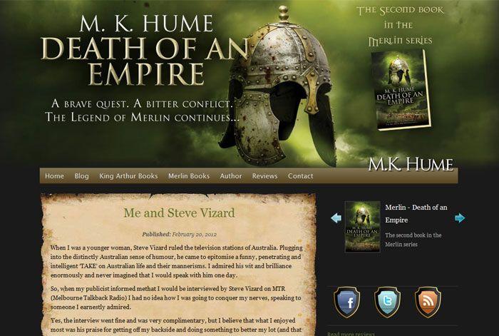M.K. Hume - Renegade Empire