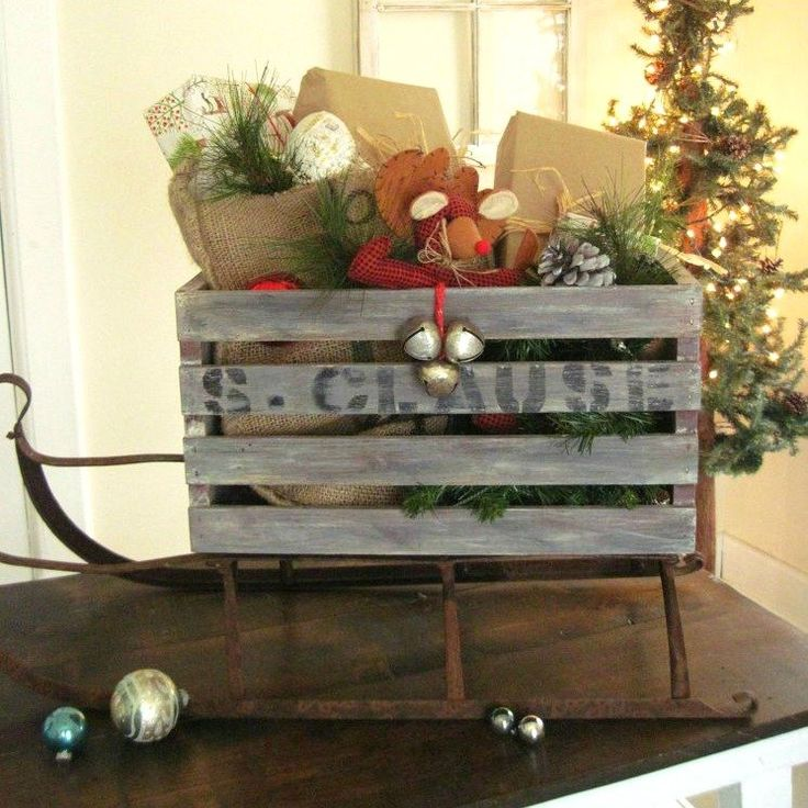 Maybe we should be adding a plain wooden crate to the top of our gift lists...