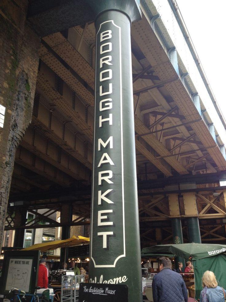 London: Borough Market #Farmer's #Market #Love