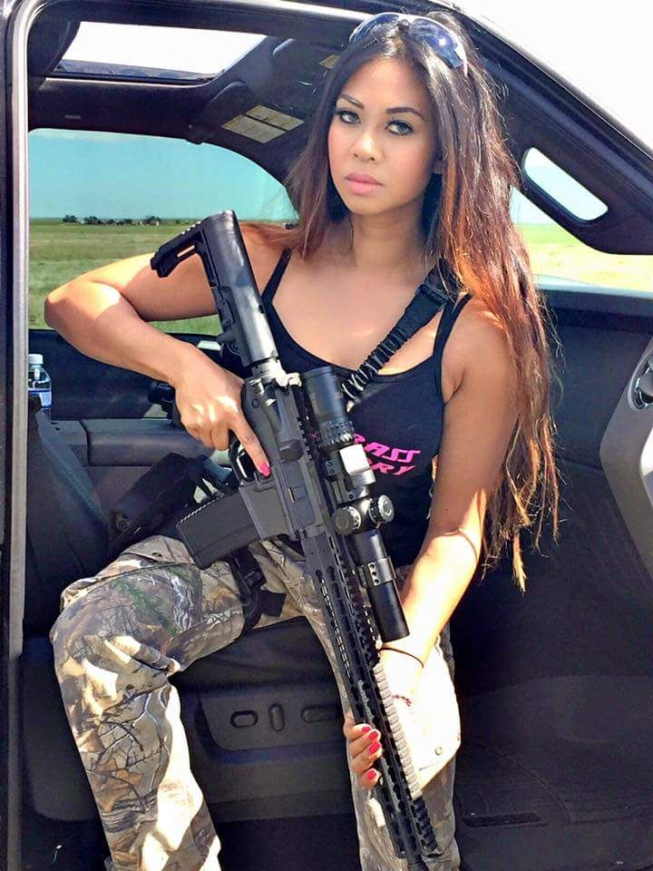 555 Best Girls  Guns Images On Pinterest  Weapons Guns -9092