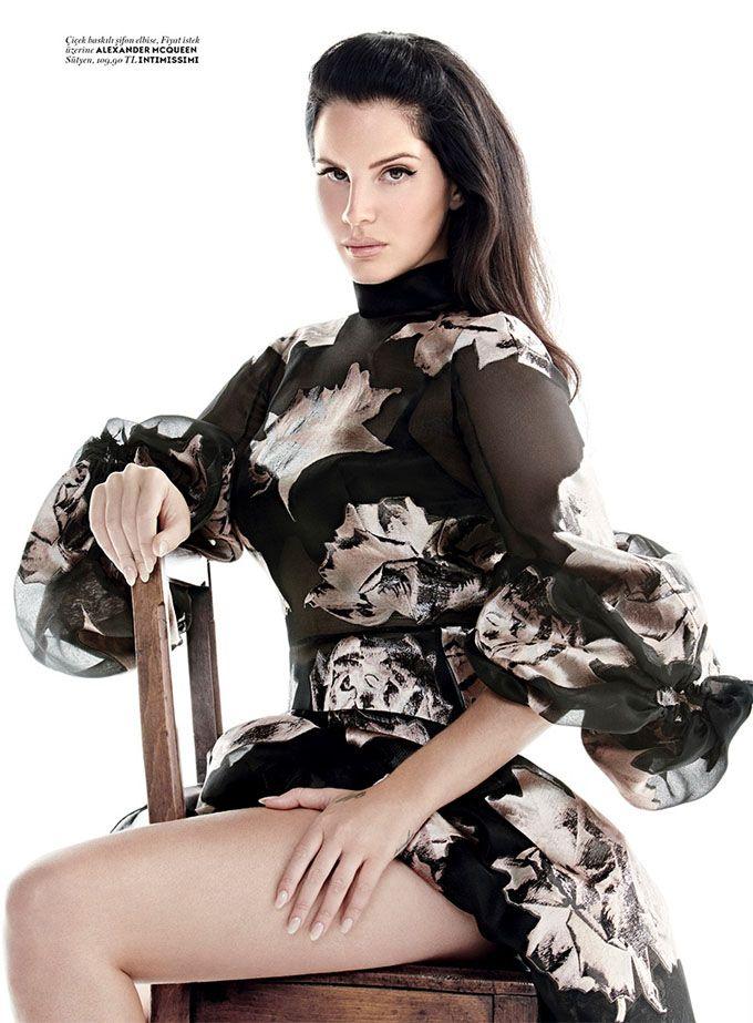 Лана Дель Рей в Vogue Turkey (Интернет-журнал ETODAY)