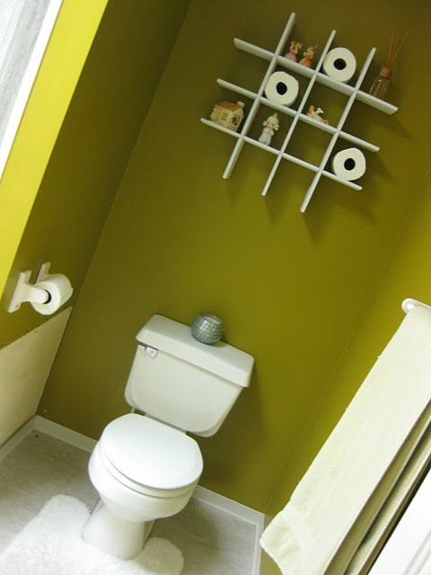 Diy Floating Shelves Above Toilet