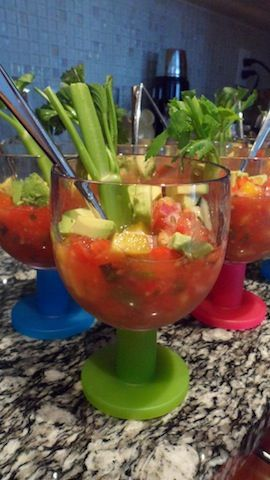 Deliciously Fresh Gazpacho! *Click on photo for more delicious organic recipes from Foodbabe.com * Organic dinner ideas, organic recipe ideas, organic living, real food recipes, whole food recipes, clean eating, healthy food, healthy dinner ideas