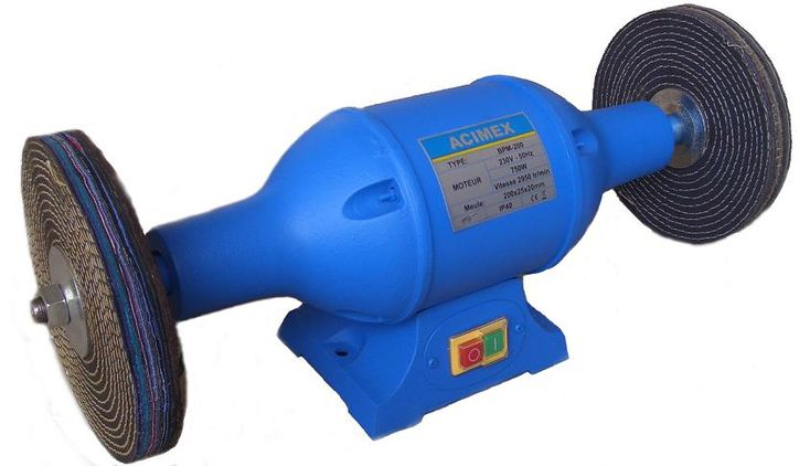Touret À Polir 750W 200 mm