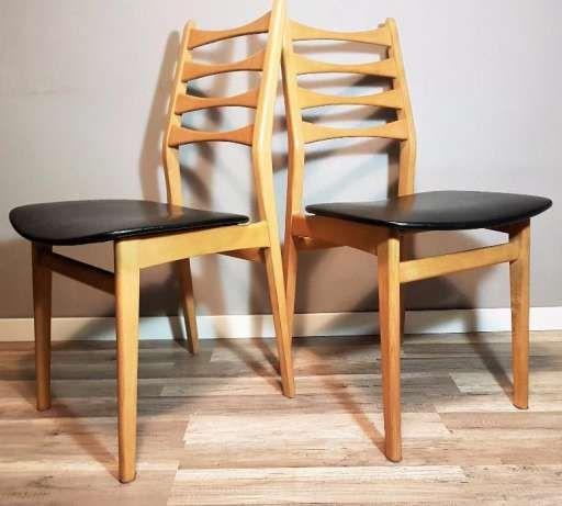 krzesła lata 70, duński styl, retro, loft, prl, skandynawskie krzesło Płock - image 1