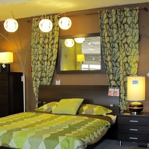 Image Result For Bedroom Curtains Behind Bed