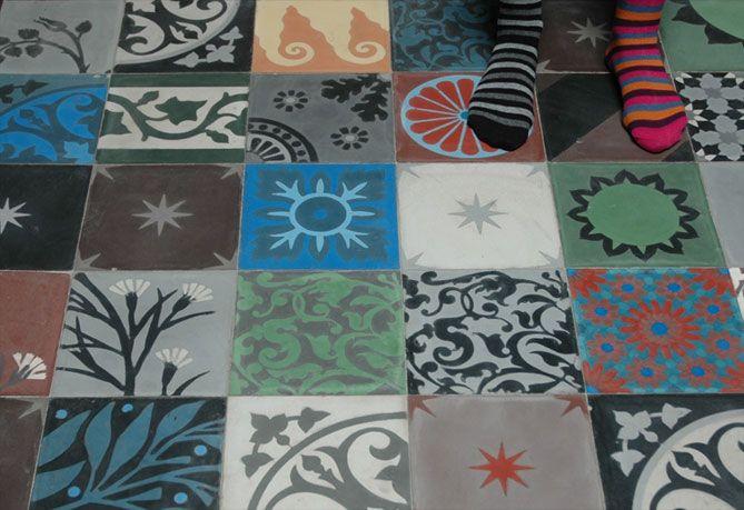 Les 126 meilleures images propos de carrelage sur pinterest mosa ques in - Emery carreaux ciment ...