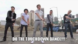 IM5 Touchdown Dance (one of my best friends HATES this song- I still don't know how)