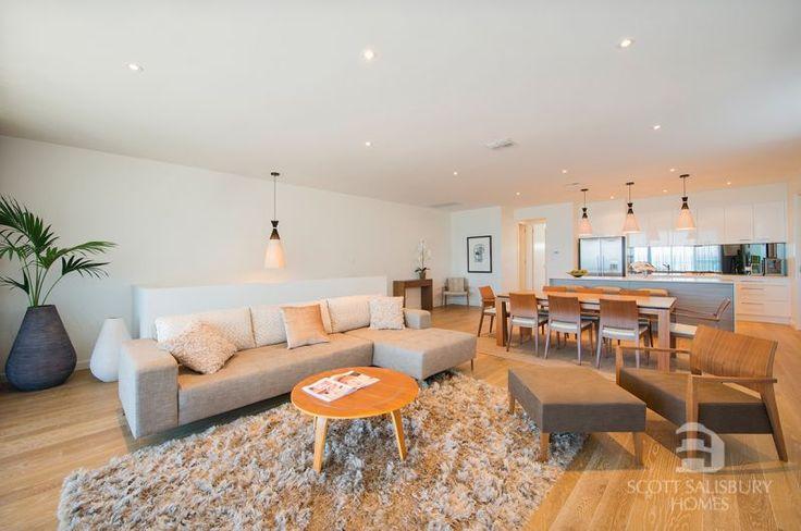 Scott Salisbury Homes HARBOR living/dine/kitchen image/photo
