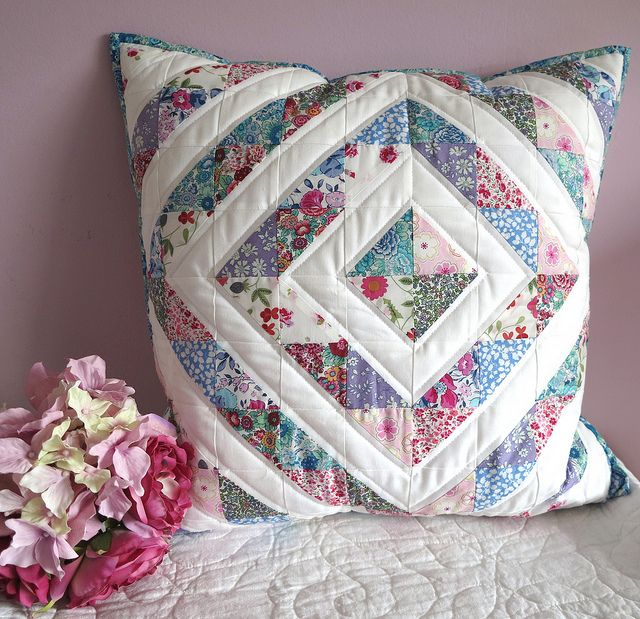 Liberty Cushion by ruthdesigns, via Flickr