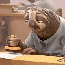 """Képtalálat a következőre: """"zootopia sloth"""""""