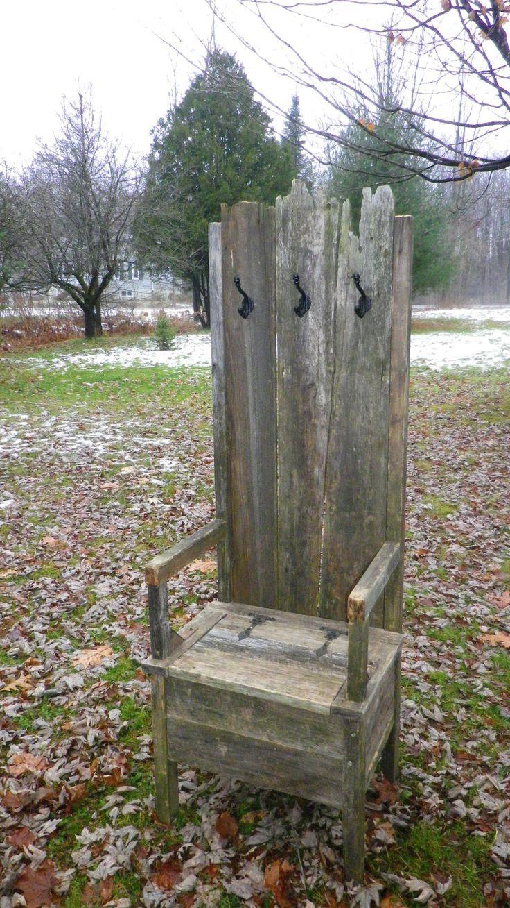 Chaise d'entrée