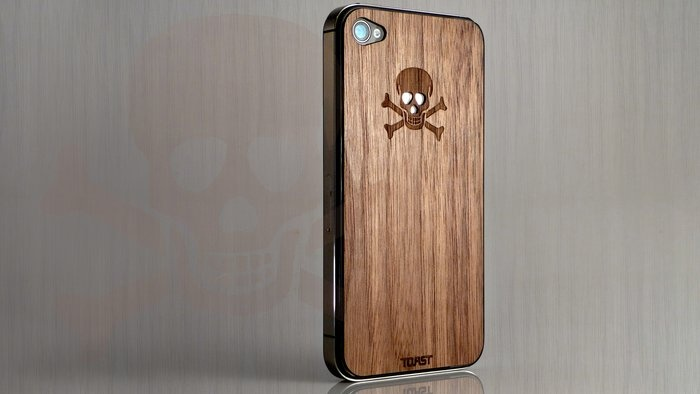 Wooden Skull iPhone / Toast