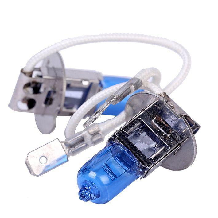 $1.51 (Buy here: https://alitems.com/g/1e8d114494ebda23ff8b16525dc3e8/?i=5&ulp=https%3A%2F%2Fwww.aliexpress.com%2Fitem%2F1pair-12V-55W-H3-6000K-HeadLight-Lamp-Dark-Blue-Glass-Replacement-Car-Halogen-Light-Bulb-Super%2F32747782258.html ) 2pcs H3 55w 6000k 12V Halogen Light Bulb  Xenon White Super Bright  HeadLight Lamp Car light source for just $1.51