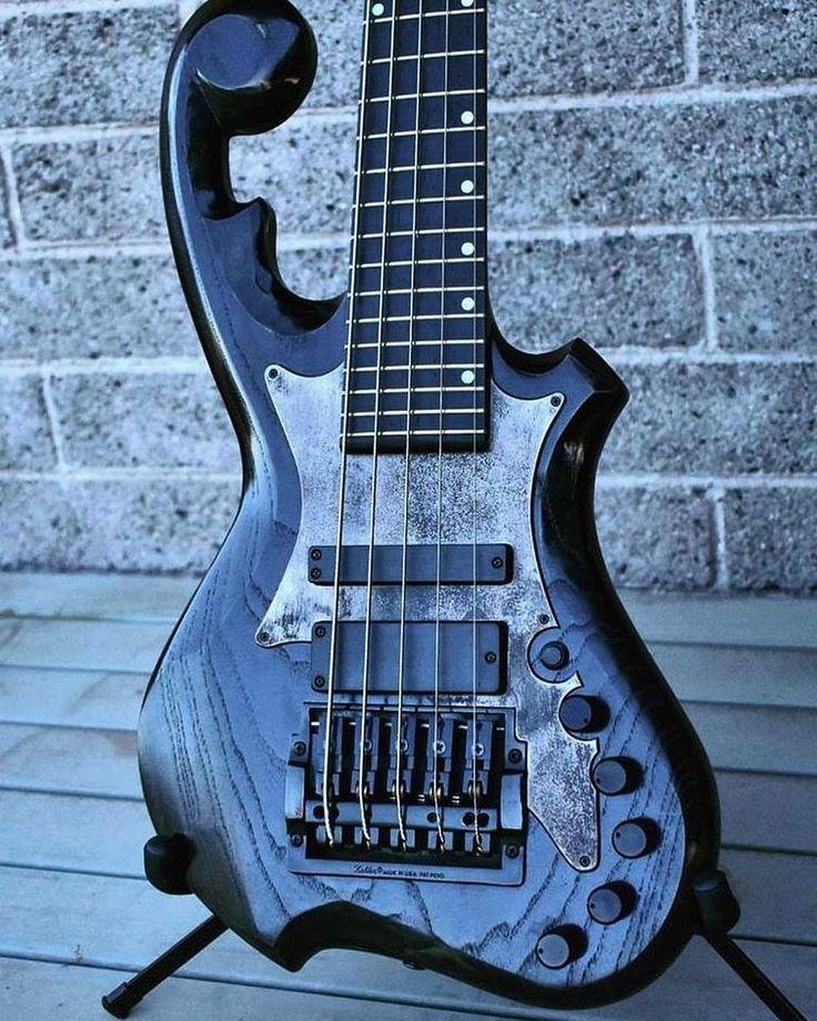 A badass stainless steel bass