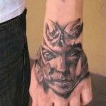 cool hand wrist tattoos