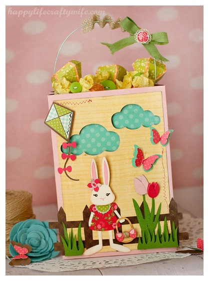 254 best spring and easter images on pinterest svg cuts cutting easter gift bag by tamara tripodi happy life crafty wife svg cuts negle Image collections