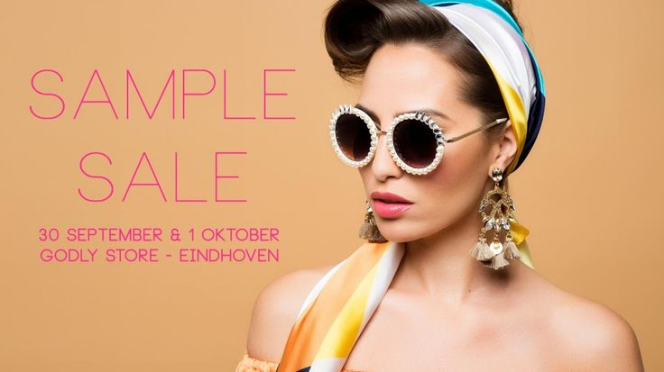 Godly Jewels Sample Sale -- Eindhoven -- 30/09-01/10
