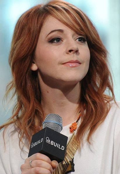 NEW YORK, NY - JUNE 16: Musician Lindsey Stirling speaks at AOL BUILD Speaker Series: Lindsey Stirling at AOL Studios In New York on June 16, 2015 in New York City. (Photo by Monica Schipper/FilmMagic) No°8