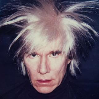 Would this be considered a good or bad hair day for #Warhol? With over 40 wigs in his collection, it's hard to tell...  #ILoveWarhol #AndyWarhol #Wig