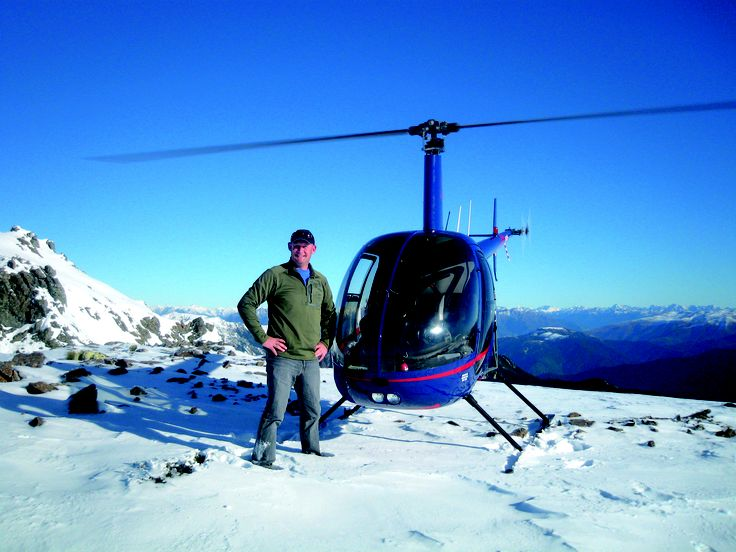 Helicopter Scenic flight in the Nelson Lakes National Park - Nelson, New Zealand #travel #photography #newzealand #beautiful #nelson #helicopter #snow #mountain #scenic