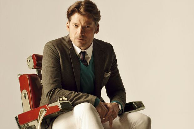 Lecciones de Tweed con el actor Nikolaj Coster-Waldau.