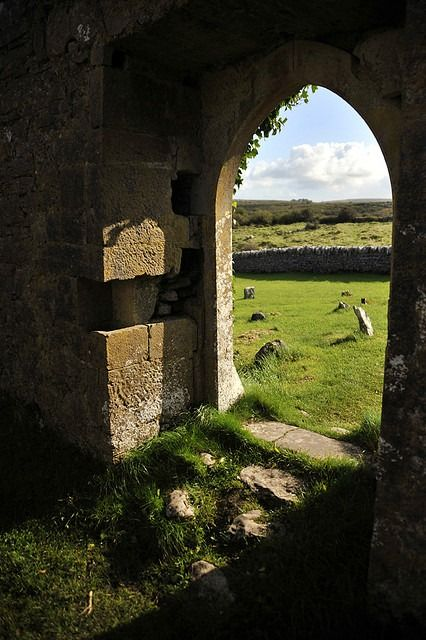 Church in The Burren, Ireland by joelmetlen