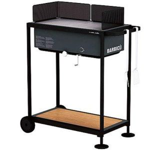 Alessi Optional Gas Grill BBQ Bundle (Alessi Gas BBQ, Table Car and Furnace Cover) £249.99