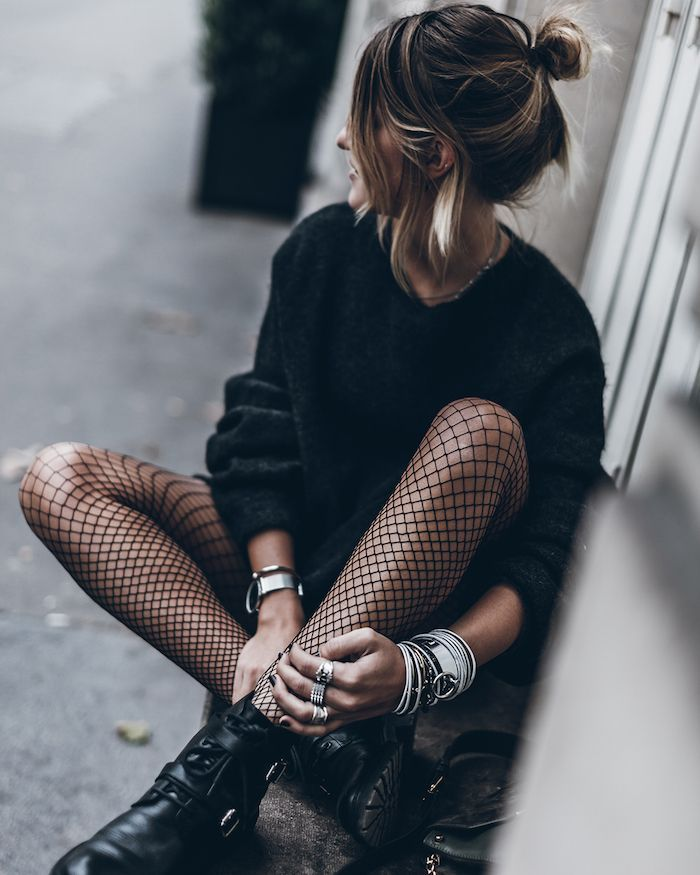 ▷ 1001 + visions inspirantes pour adopter le look rock femme