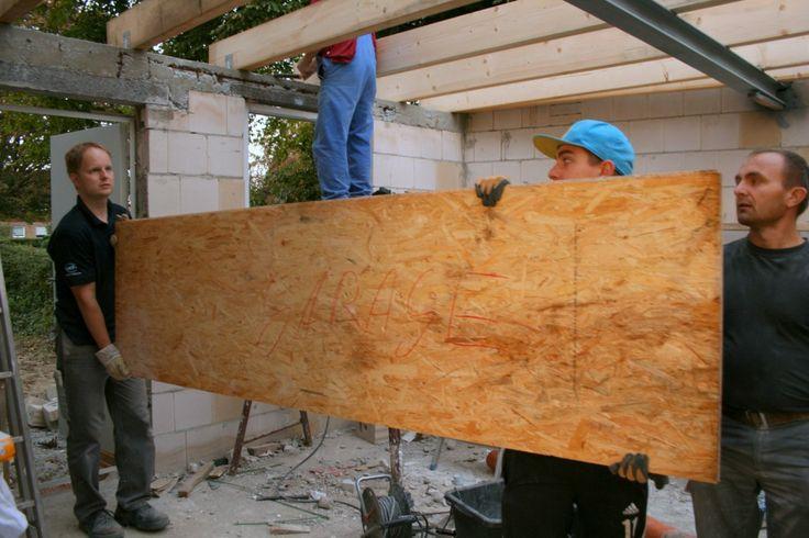 Ländchenlust   Wir bauen eine Garage