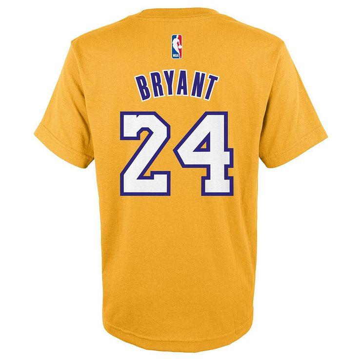 Boys 8-20 Adidas Los Angeles Lakers Kobe Bryant Tee, Size: M(10-12), Ovrfl Oth