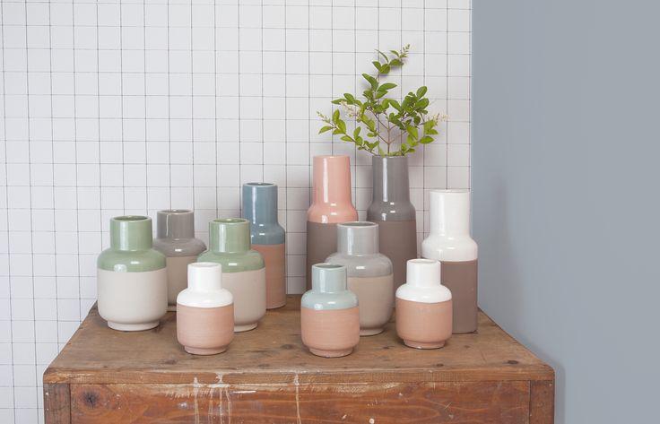 Vazen combineren | Mix vases | Present time