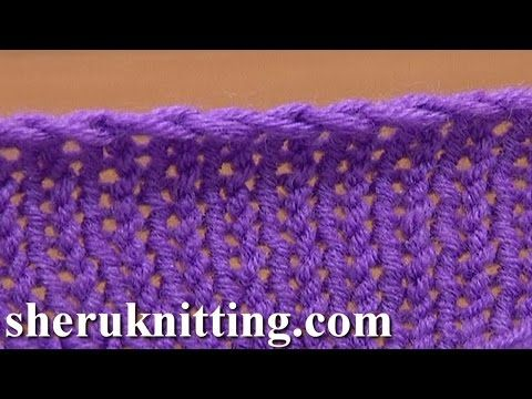Binding-off in Knitting Casting-off Tutorial 7 Method 5 of 12 Knit Bind Off Cast Off Methods - YouTube