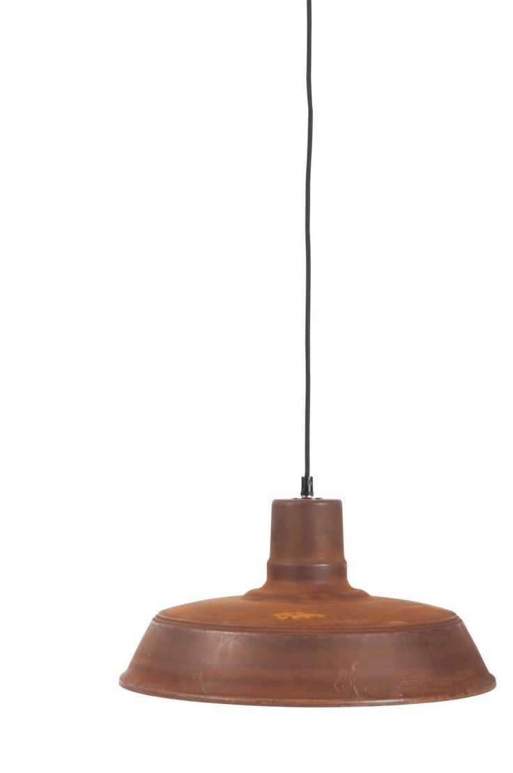 Corp de iluminat suspendat cu finisaj ruginit model Rusty #light #copper #design