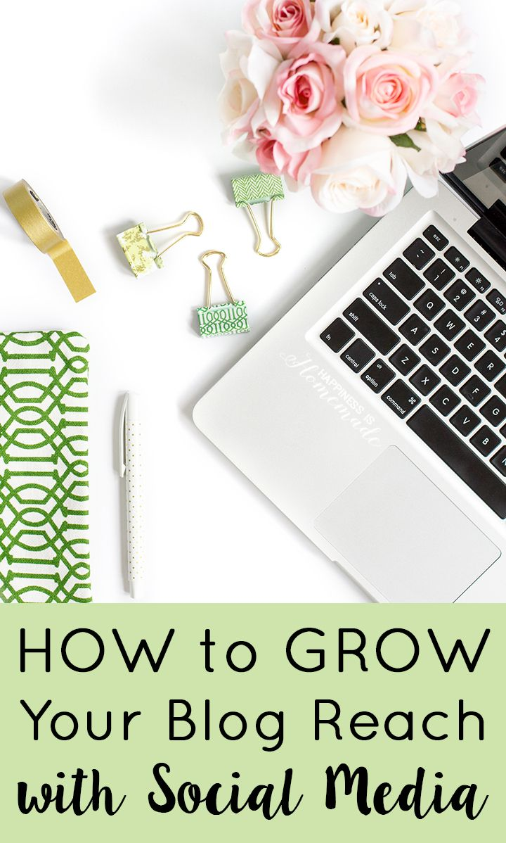 How to Start a Profitable Blog for Beginners - Part 4: Growing your reach with social media. Learn how social media promotion can increase your pageviews!