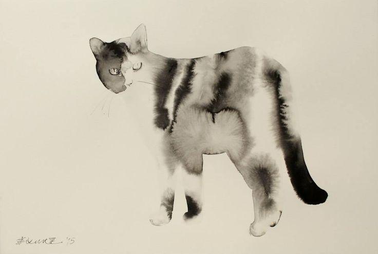 Изображения кошек из новой коллекции Эндре Пеновака