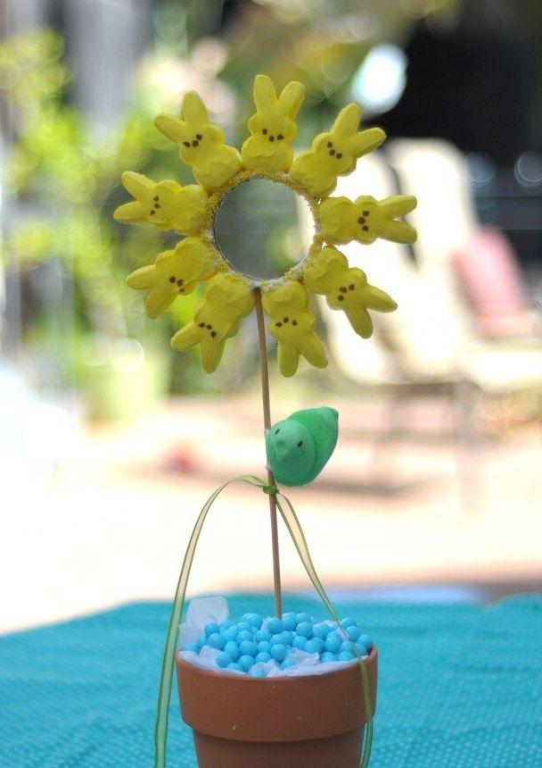 Easter Table Center Peeps