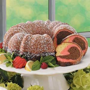 Neapolitan CakeBundt Cakes, Cake Recipe, Neapolitan Cake, Yellow Cake, Mousse Cake, Cake Allrecipescom, Chocolates Covers Strawberries, Food Recipe, Neopolitan Cake