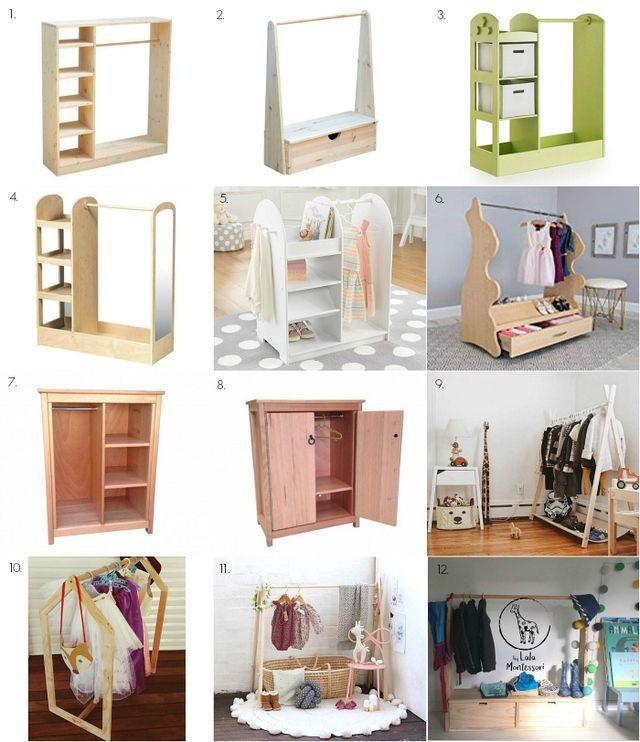 He presentado algunos armarios Montessori increíbles antes, pero ¿y si eres …