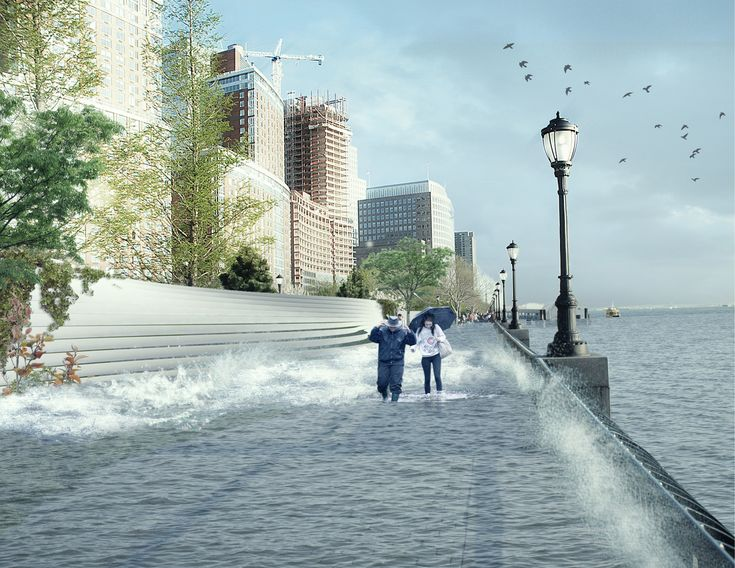 New York, like most coastal cities, is at risk of catastrophic flooding as sea levels rise. In the wake of hurricane Sandy, New York's mayor is proposing groundbreaking flood defenses to protect the Big Apple. BIG/Splash News/Corbis Last week, The New York City Panel on Climate Change released a new report detailing exactly how climate…