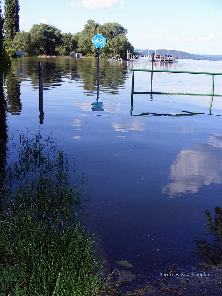When the River Danube decides to burst its banks...