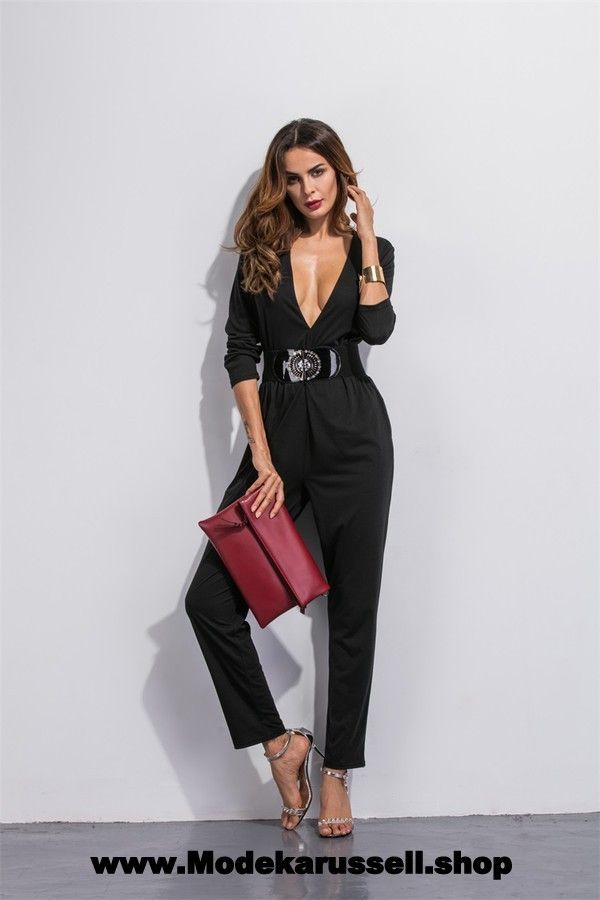 damen sommer on pinterest jumpsuit overall damen jumpsuit kurz. Black Bedroom Furniture Sets. Home Design Ideas