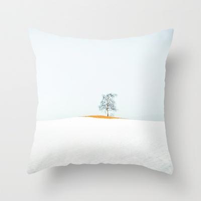 TREE Throw Pillow by lilla värsting - $20.00