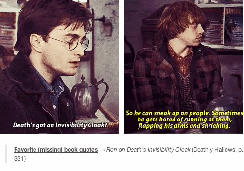 """11 Missing Lines That Should Have Been In The """"Harry Potter"""" Movies @Ariana Dawson"""
