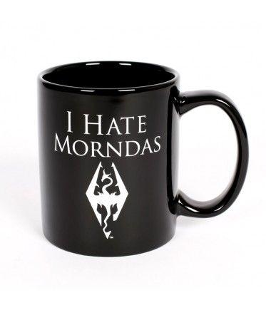 TTIF Thank Talos It's Fredas!  The Bethesda Store - I Hate Morndas Mug - The Elder Scrolls - Brands